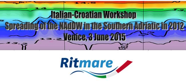 Italian-Croatian Workshop on Spreading of the NAdDW in the Southern Adriatic in 2012