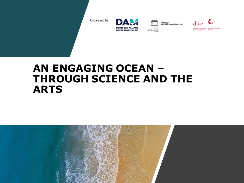 An engaging ocean – through science and the arts