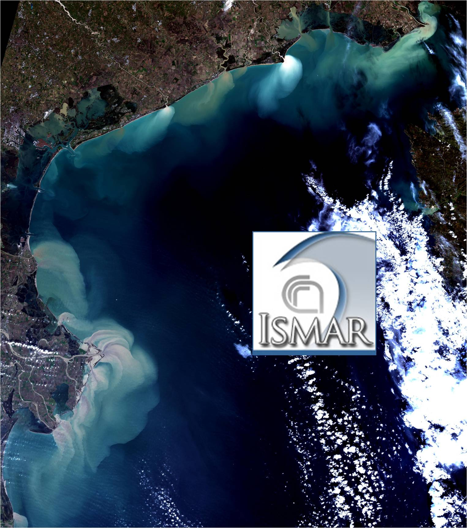 Mosaico di immagini Landsat 8 (in RGB) del 19 novembre 2014 - courtesy of the U.S. Geological Survey