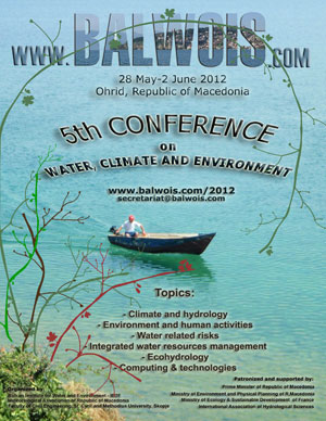 Posticipata la deadline per gli abstract di BALWOIS 2012 Conference