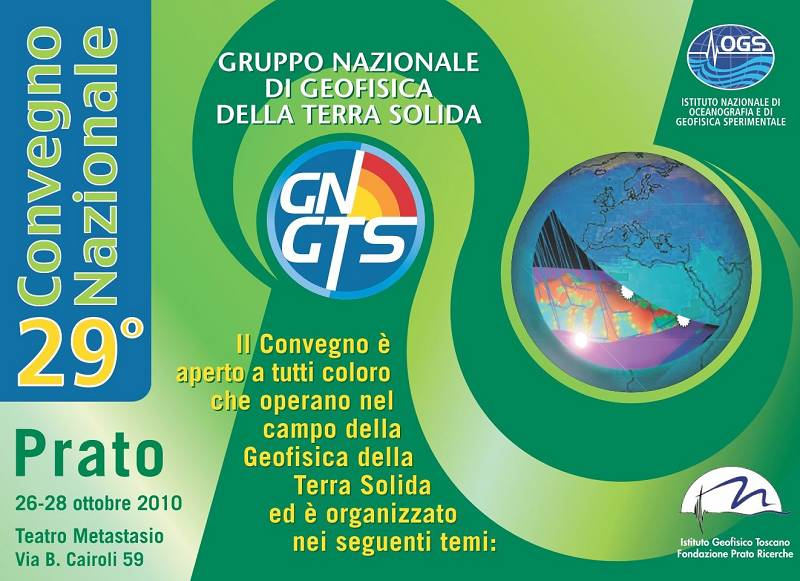 29th National Congress of the National Group of Solid Earth Geophysics