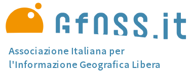 VI Italian Meeting on geographical software and open geographical data