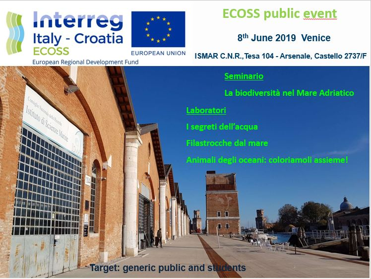 ECOSS public event: seminar and laboratories