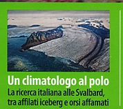 A climatologist to the North Pole