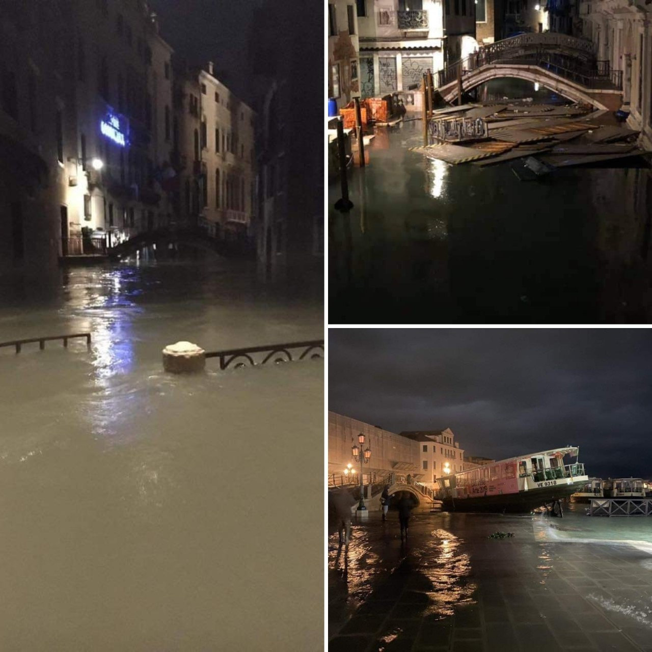 VENICE: The exceptional high sea level event of 12/11/2019