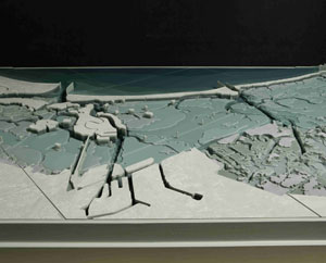 The model of the Lagoon of Venice